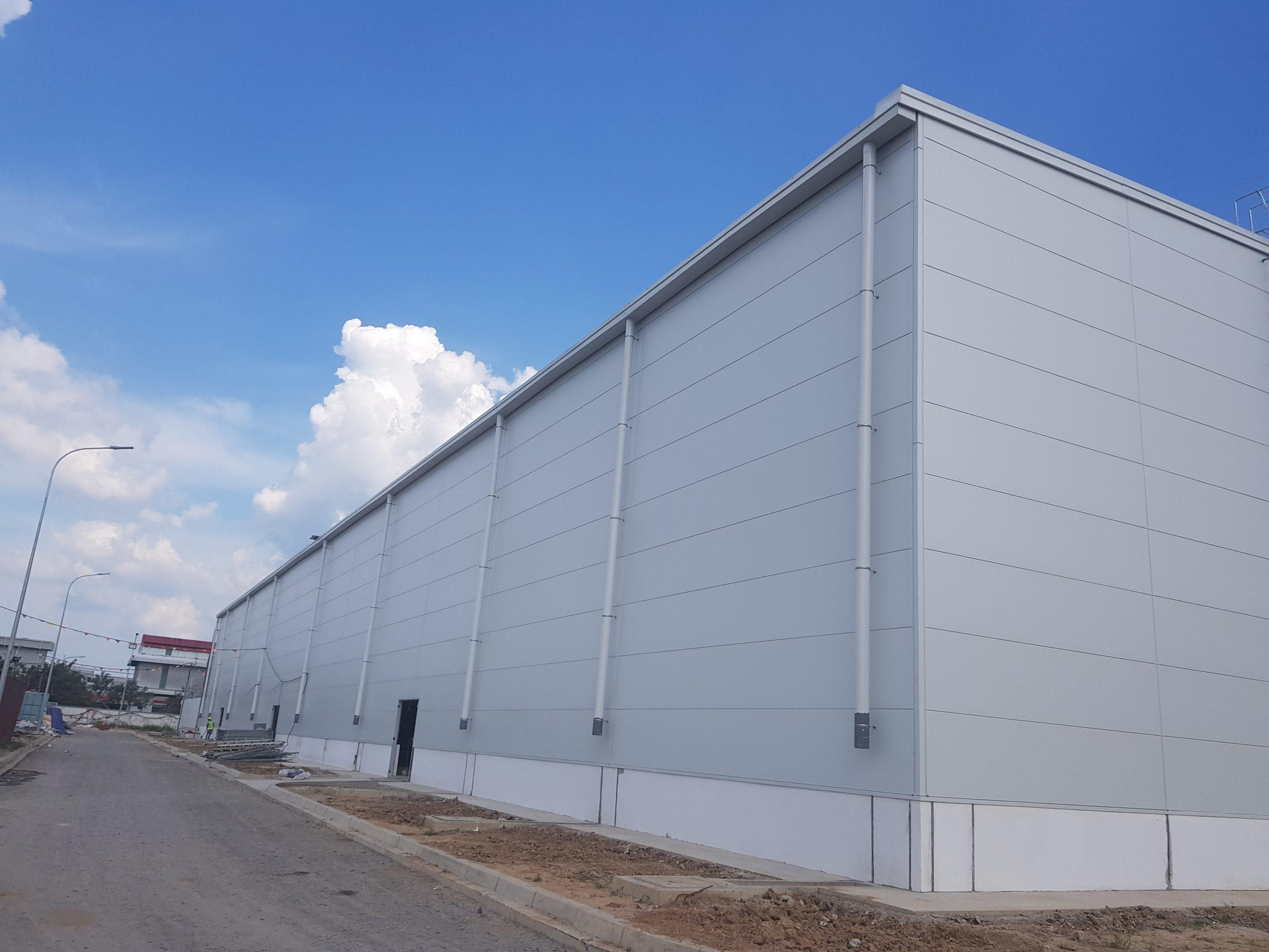 Giải pháp mở rộng nhà xưởng tiền chế từ PEB Steel - 1