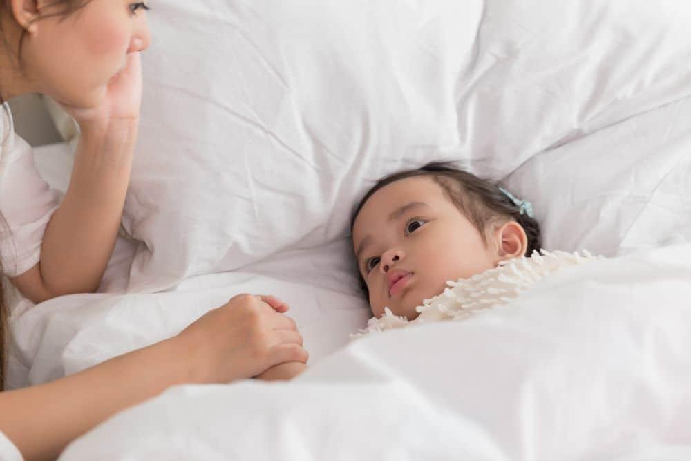 Sốt phát ban ở trẻ – lành tính nhưng cần điều trị đúng cách.
